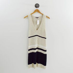 James Perse Striped Knit Dress #143-96